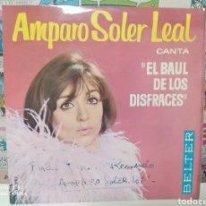 Discos de vinilo: AMPARO SOLER LEAL. EL BAÚL DE LOS DISFRACES. EP BELTER 1964.. Lote 235019855