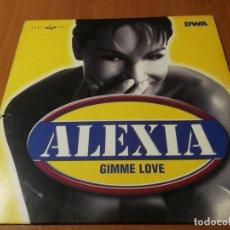 Discos de vinilo: MAXI SINGLE 1998 ALEXIA GIMME LOVE. Lote 235020325