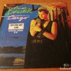 Discos de vinilo: MAXI SINGLE 1984 AXEL BAUER CARGO SPECIAL REMIX. Lote 235020610