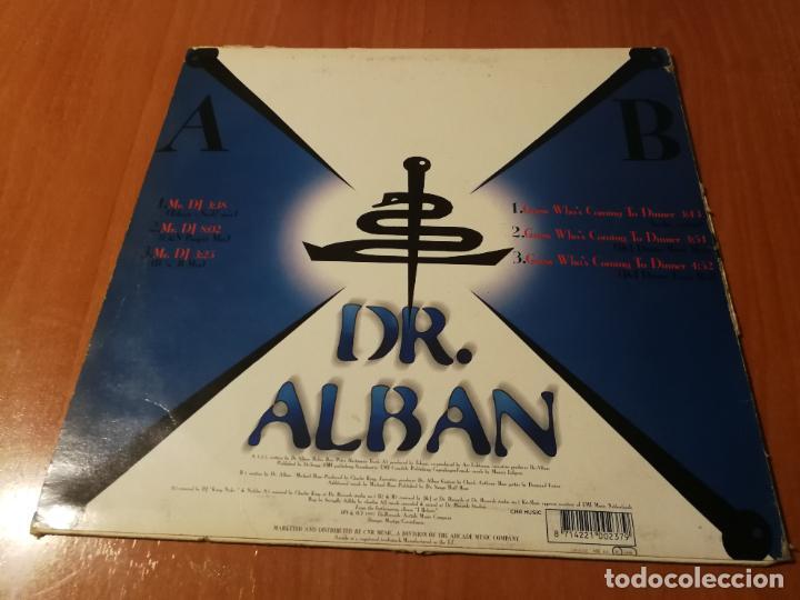 Discos de vinilo: MAXI SINGLE 1997 DR. ALBAN MR. DJ GUESS WHO'S COMING TO DINNER - Foto 2 - 235021265