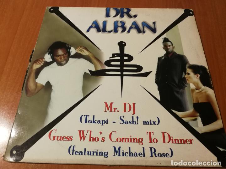 MAXI SINGLE 1997 DR. ALBAN MR. DJ GUESS WHO'S COMING TO DINNER (Música - Discos de Vinilo - Maxi Singles - Disco y Dance)