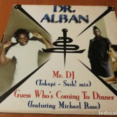 Discos de vinilo: MAXI SINGLE 1997 DR. ALBAN MR. DJ GUESS WHO'S COMING TO DINNER. Lote 235021265