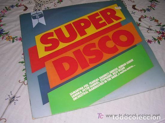 SUPER DISCO VARIOS LP 1986 (Música - Discos - LP Vinilo - Pop - Rock - New Wave Internacional de los 80)