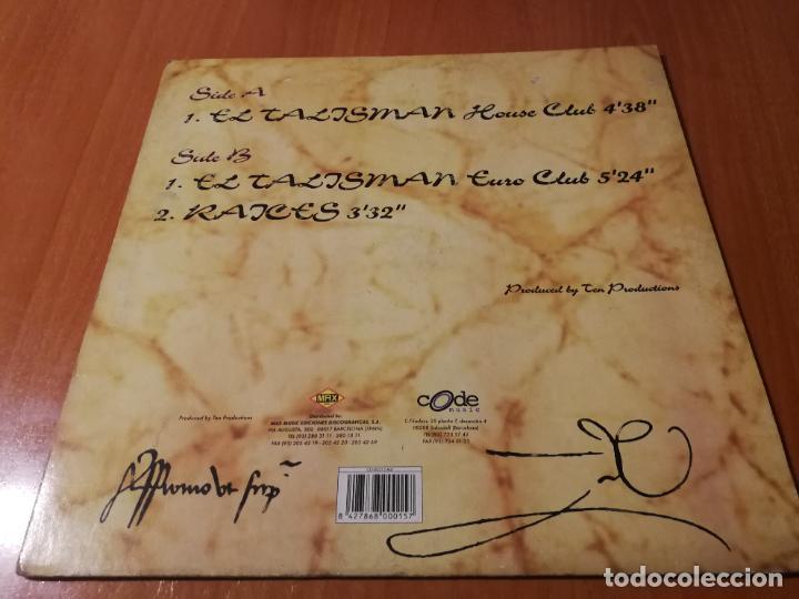 Discos de vinilo: MAXI SINGLE 1996 EL TALISMAN TALISMAN RAICES ROSANA ARBELO HOUSE CLUB - Foto 2 - 235021575