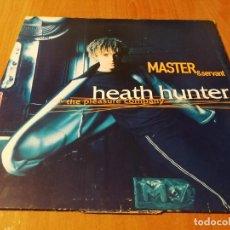 Discos de vinilo: MAXI SINGLE 1996 MASTER & SERVANT HEATH HUNTER & THE PLEASURE COMPANY. Lote 235025190