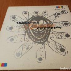 Discos de vinilo: MAXI SINGLE 1996 MEGAVIBES RENAISSANCE REMIXES. Lote 235025300
