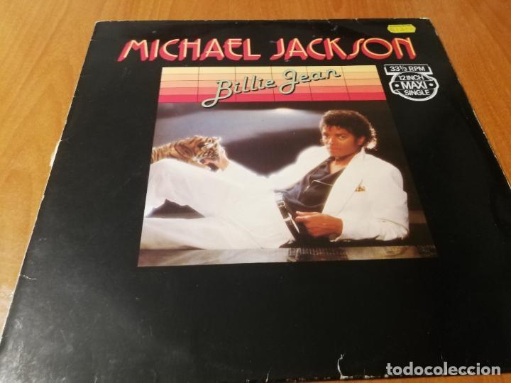 MAXI SINGLE 1982 MICHAEL JACKSON BILLIE JEAN 12 INCH MAXI SINGLE HOLLAND (Música - Discos de Vinilo - Maxi Singles - Disco y Dance)