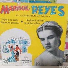 Discos de vinilo: MARISOL REYES–LA JOTA DE MI BALCON . EP 1962. Lote 235025690