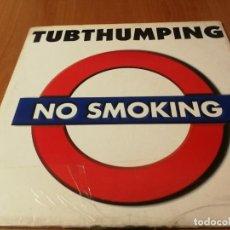 Discos de vinilo: MAXI SINGLE 1997 NO SMOKING TUBTHUMPING – GALACTIC FLY. Lote 235026280