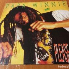 Discos de vinilo: MAXI SINGLE 1992 PAPA WINNIE PLEASE STAY ROCK A MUFFIN. Lote 277419703