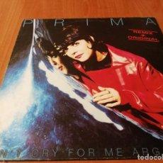 Discos de vinilo: MAXI SINGLE 1997 PRIMA DON'T CRY FOR ME ARGENTINA REMIX+ORIGINAL. Lote 235026935
