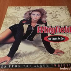 Discos de vinilo: MAXI SINGLE 1997 WHIGFIELD NO TEARS TO CRY. Lote 235030720