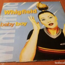 Discos de vinilo: MAXI SINGLE 1997 WHIGFIELD BABY BOY. Lote 235031110