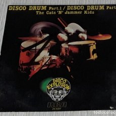 Discos de vinilo: SINGLE - THE CATS 'N' JAMMER KIDS - DISCO DRUMS PART 1 / PART. 5 MADE IN SPAIIN. Lote 235035090