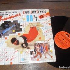 Discos de vinilo: BREAKDANCE MAXI SINGLE ORIGINAL SOUNDTRACK CAROL LYNN TOWNES 99 1/2. MADE IN SPAIN. 1984. Lote 235044195