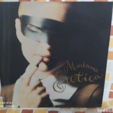Discos de vinilo: MADONNA–EROTICA - MAXI VINILO EDICIÓN GERMANY 1992. Lote 235044270