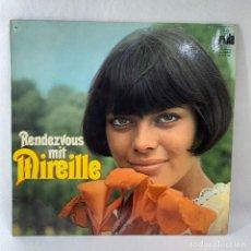 Discos de vinilo: LP - VINILO MIREILLE MATHIEU - RENDEZVOUS MIT MIREILLE - ALEMANIA - AÑO 1969. Lote 235044535