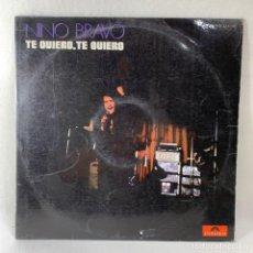 Discos de vinilo: LP - VINILO NINO BRAVO - TE QUIERO , TE QUIERO - ESPAÑA - AÑO 1970. Lote 235045090