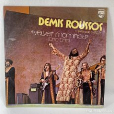 Discos de vinilo: LP - VINILO DEMIS ROUSSOS - VELVET MORNINGS - BRAZIL - AÑO 1973. Lote 235049085