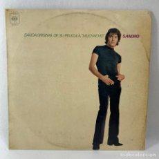 Discos de vinilo: LP - VINILO SANDRO - BANDA ORIGINAL DE LA PELÍCULA MUCHACHO - ESPAÑA - AÑO 1971. Lote 235049885