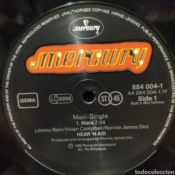 Discos de vinilo: Hearn Aid - Stars 1986 Ed Holandesa - Foto 5 - 235050675