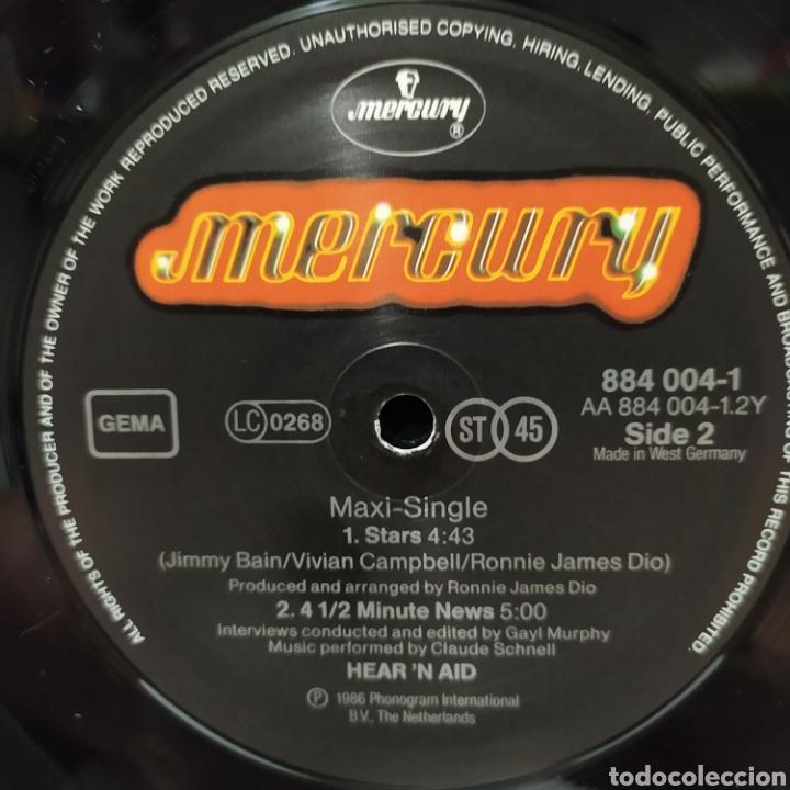 Discos de vinilo: Hearn Aid - Stars 1986 Ed Holandesa - Foto 6 - 235050675