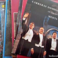 Discos de vinilo: MUSICA 32 LP VINILO MUSICA CLASICA ( CARRERAS, PAVAROTTI, DOMINGO, VIVALDI,BEETHOVEN,CHOPIN, MOZAT... Lote 235052510