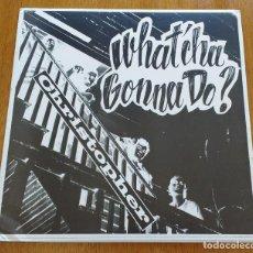 Discos de vinilo: CHRISTOPHER WHAT'CHA GONNA DO? (ROCKADELIC AO-102) 1969 PSYCH ACID ROCK LP RE. Lote 235053225