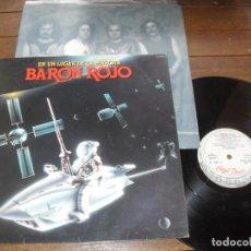 Discos de vinilo: BARON ROJO LP. EN UN LUGAR DE LA MARCHA. MADE IN SPAIN. 1985. Lote 235053775