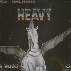 Discos de vinilo: GRANDES BALADAS HEAVY (ÑU,PANZER,LEÑO). Lote 235062300