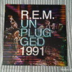 Discos de vinilo: R.E.M. -UNPLUGGED - DOBLE LP RHINO 2014 ED. AMERICANA 03497 89989 GATEFOLD SLEEVE COMO NUEVO.. Lote 235062820