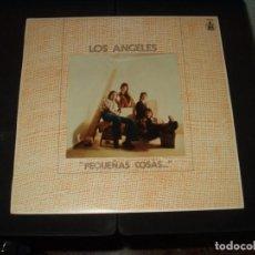 Discos de vinilo: ANGELES LP PEQUEÑAS COSAS. Lote 235063530
