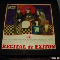 Discos de vinilo: RECITAL DE EXITOS LP VARIOS ..ANIMALS,SALVAJES,GELU,DUO DINAMICO.. ETC.. Lote 235064715