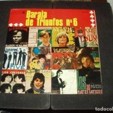 Discos de vinilo: BARAJA DE TRIUNFOS LP VARIOS ASTRONAUTS, MATEMATICOS,CHEYENES,LIVERPOOL FIVE.... Lote 235066110
