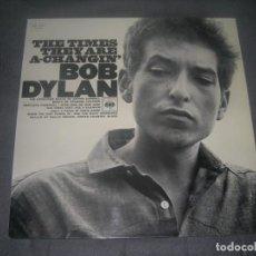 Discos de vinilo: LP BOB DYLAN-THE TIMES THEY ARE A-CHANGIN´ ENVIO CERTIFICADO Y GRATUITO. Lote 235070530