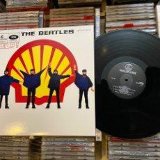 Discos de vinilo: THE BEATLES HELP LP DISCO DE VINILO EDICIÓN ESPECIAL TRABAJADORES SHELL. Lote 235071990