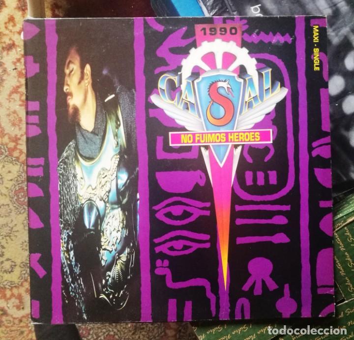 TINO CASAL NO FUIMOS HEROES/TAL COMO SOY (EMI 1990) (Música - Discos de Vinilo - Maxi Singles - Solistas Españoles de los 70 a la actualidad)