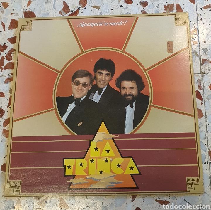 LP LA TRINCA - ¿QUESQUESÉ QUE MERECE? (Música - Discos - LP Vinilo - Cantautores Españoles)