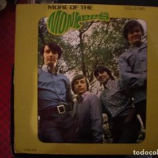 Discos de vinilo: THE MONKEES- MORE OF THE MONKEES. LP. ORIG USA.. Lote 235087215