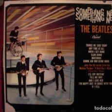 Discos de vinilo: THE BEATLES- SOMETHING NEW. ORIG USA.. Lote 235089580