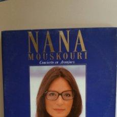 Discos de vinilo: DOBLE LP DE NANA MOUSKOURI / CONCIERTO EN ARANJUEZ / 1989.. Lote 235096815