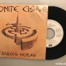 Discos de vinilo: DISCO SINGLE COMITÉ CISNE, DULCES HORAS. 1985. Lote 235098570