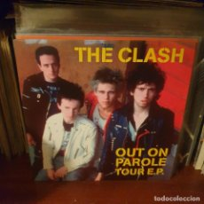 Discos de vinilo: THE CLASH / OUT ON PAROLE TOUR / NOT ON LABEL. Lote 235100640