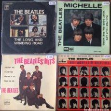 Discos de vinilo: THE BEATLES. 1 SINGLE + 3 EPS.. Lote 235113450
