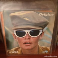 Discos de vinilo: BRIGITTE BARDOT / LE SOLEIL / EDICIÓN FRANCESA / DISC'AZ 1966. Lote 235114775