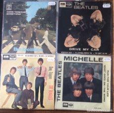 Discos de vinilo: THE BEATLES. 1 SINGLE + 3 EPS.. Lote 235115065