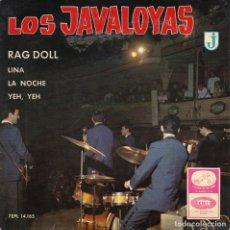 Discos de vinilo: LOS JAVALOYAS - RAG DOLL + 3 EP.S. Lote 235117845