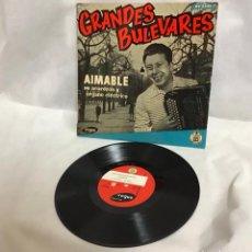 Discos de vinilo: GRANDES BULEVARES, DISCO. Lote 235118575