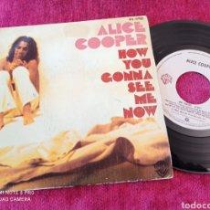 Discos de vinilo: ALICE COOPER 1978 COMO ME VERÁS AHORA. Lote 235124325