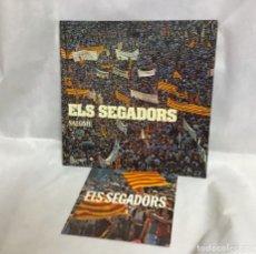 Discos de vinilo: ELS SEGADORS, DISCOS. Lote 235125720